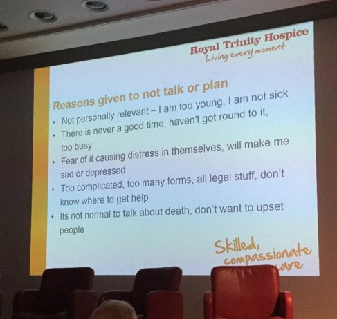 WHy don't people plan for their death? A selection of reasons #medinnov https://t.co/sP0yqvExYS