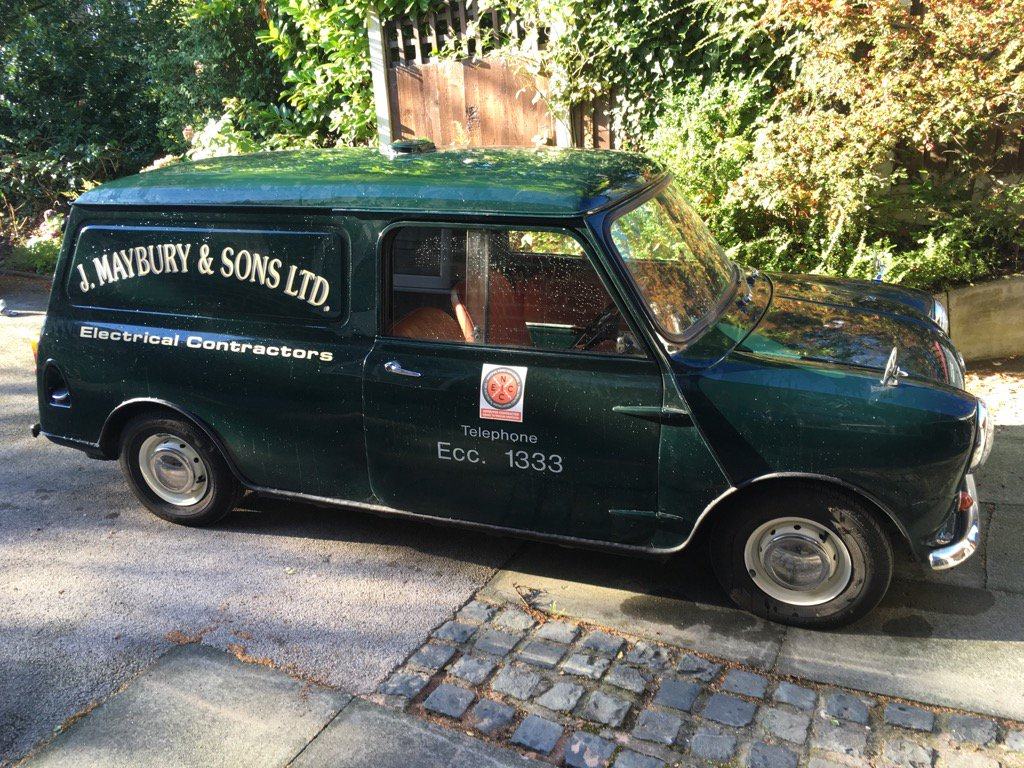 J Maybury And Sons On Twitter Our Classic 61 Mini Van Out For
