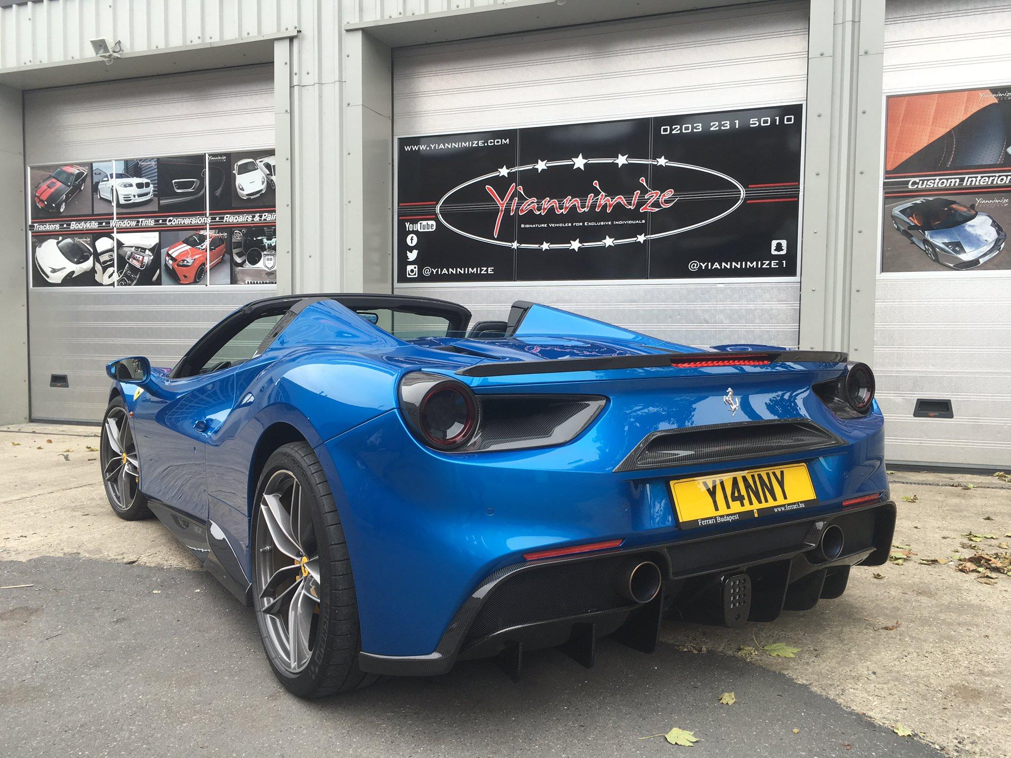 """Yianni Charalambous on Twitter: """"Here she is... Ferrari ..."""