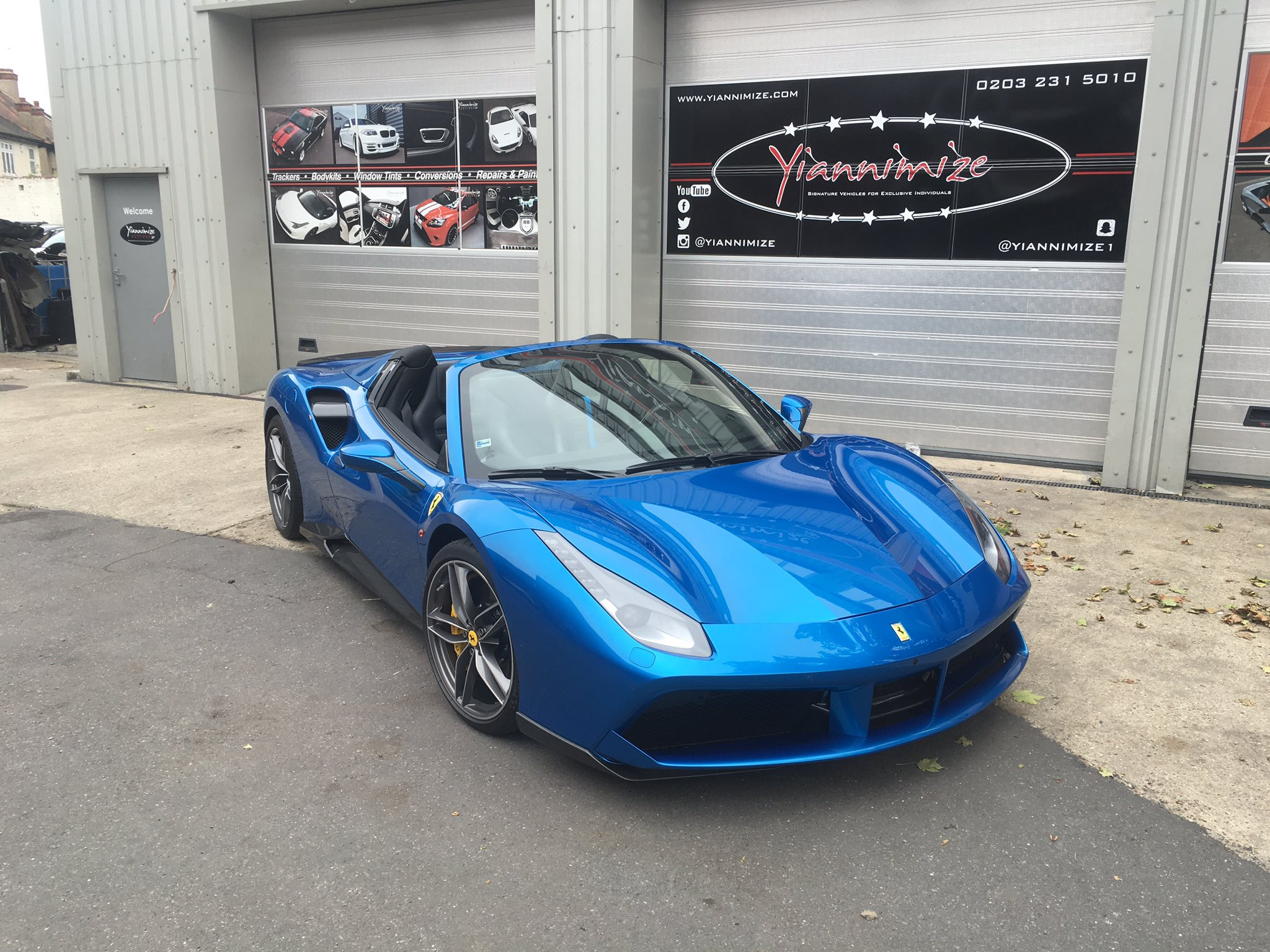 Yianni Charalambous On Twitter Quot Here She Is Ferrari 488 Spider Yiannimize