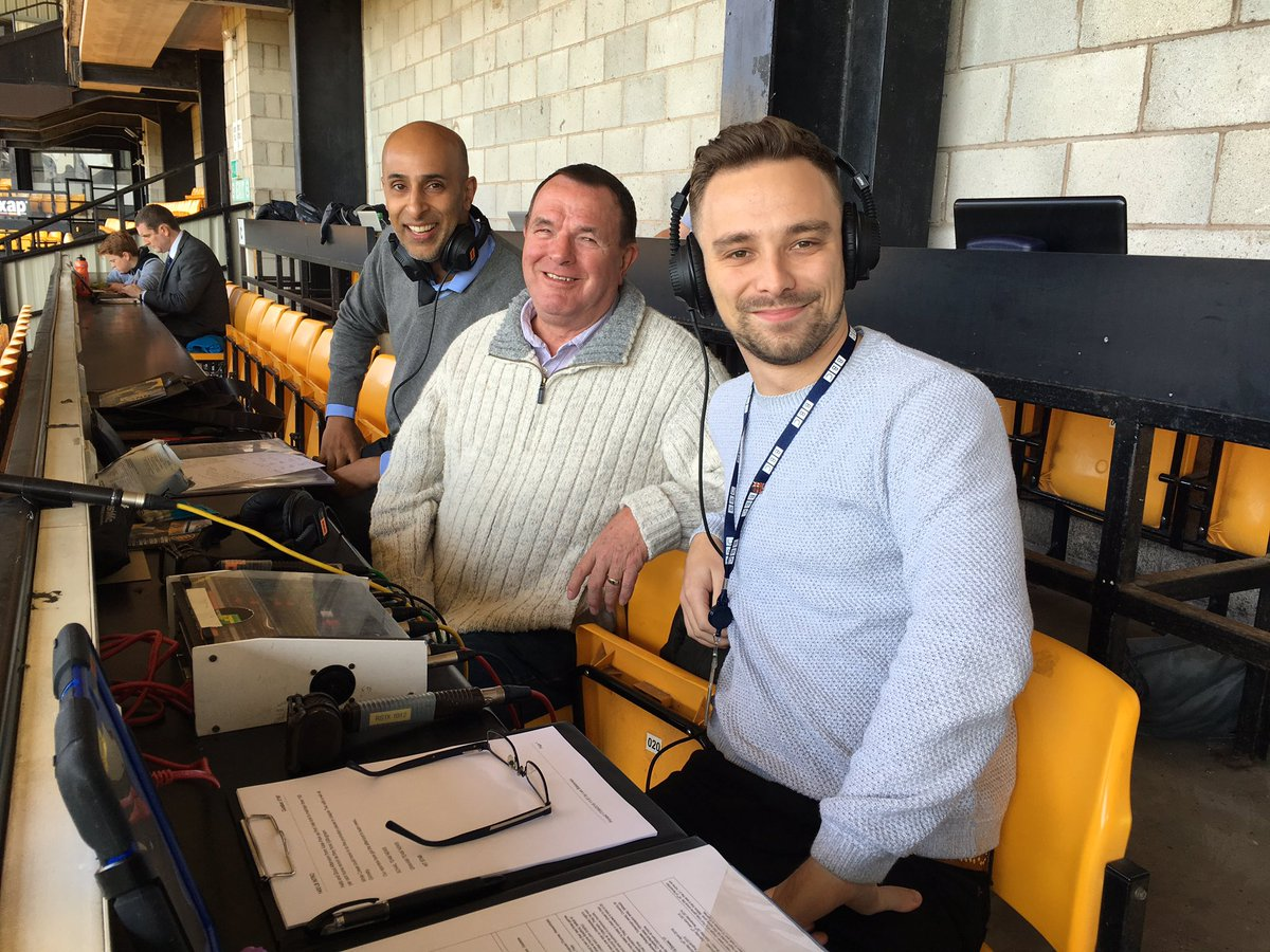 """Lee Blakeman on Twitter """"Ready to go at Vale Park with Ray"""