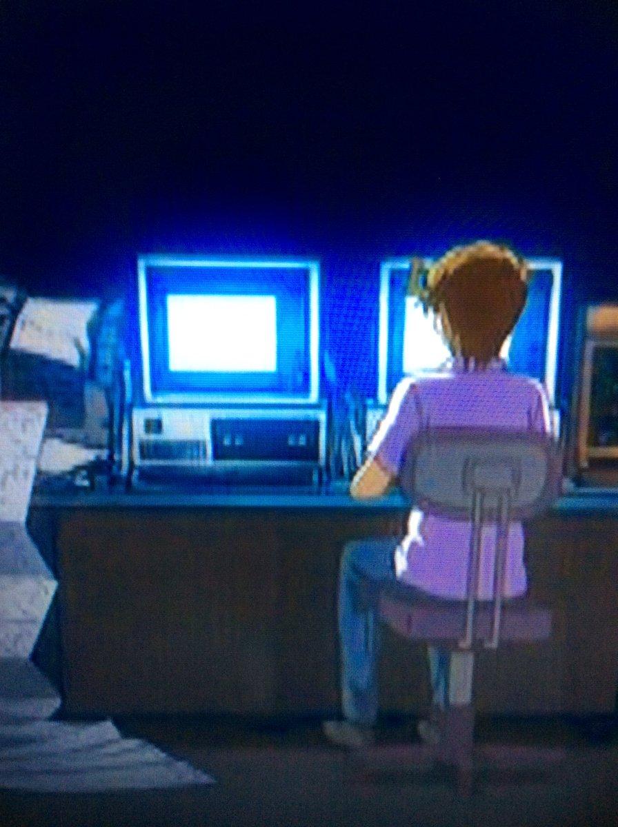 めが兄ぃの使っているパソコンがまさにIBM-PC 5150そのものなので、プリパラで初めて心の底から感動してるし、やはりプリパラはIBMのテクノロジーだったのだ……という事実が確定。 https://t.co/p5ZDkBRG4n