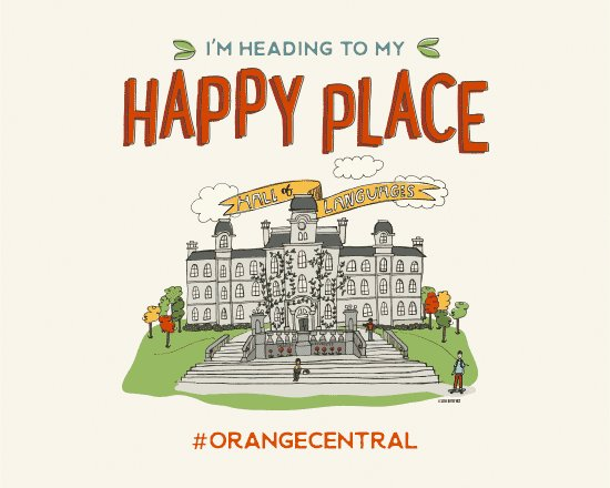 Welcome back to your happy place! We're excited to welcome our alumni for #OrangeCentral 🍊 https://t.co/uvykV1QXaz https://t.co/qkclmqQGTI