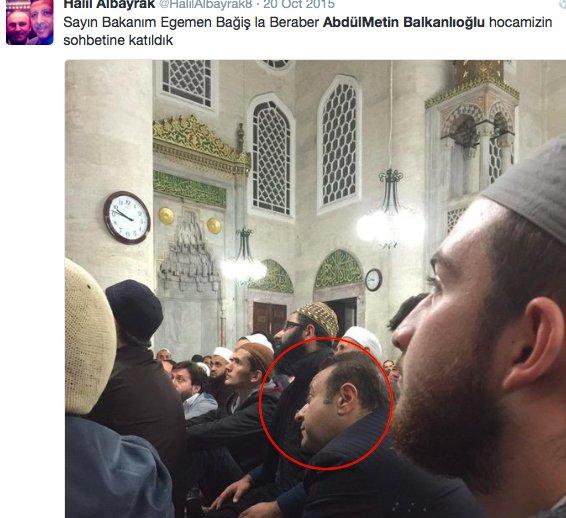 17) Even the former EU minister Egemen Bağış, disgraced for taking $1.5 million in bribes, attends his sermons https://t.co/w8pq051WM5