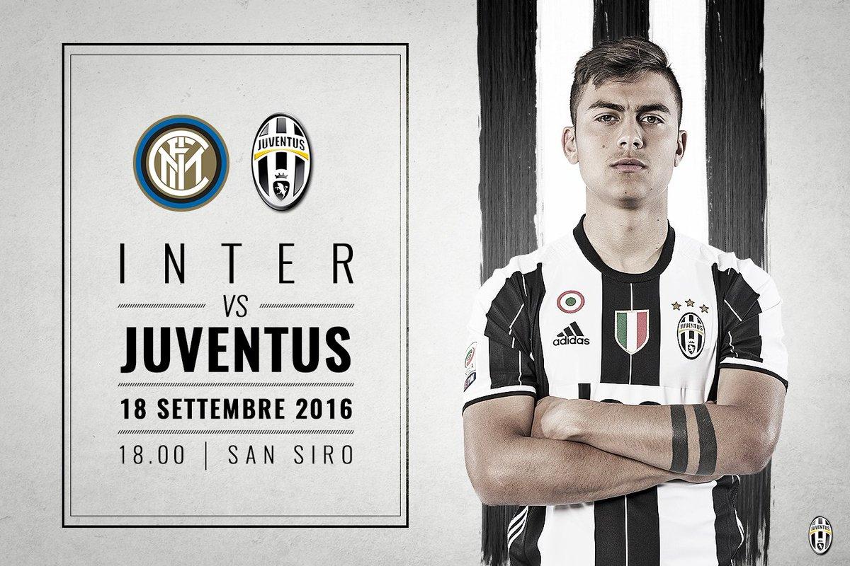 Vedere INTER JUVENTUS Streaming gratis Rojadirecta Diretta Live Serie A Oggi 18 settembre 2016 Derby d'Italia