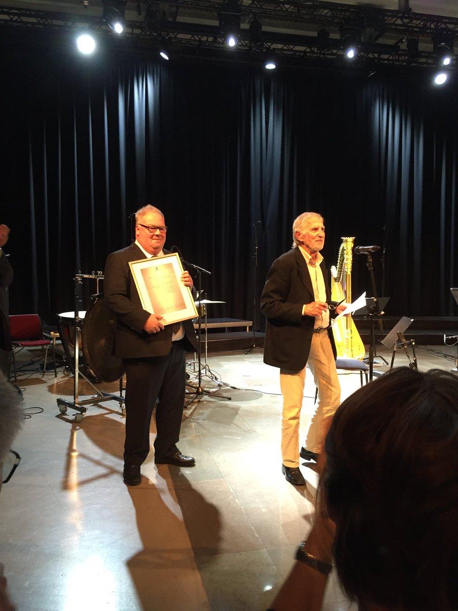 👏Arne Nordheims komponistpris er gitt til Alfred Janson. @Solistkoret fremførte Jansons Nocturne. @ultimaoslo 👏