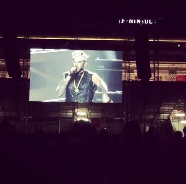 WWRY vid RT @lambertinas_arg Video IG #QAL #AdamLambert #Queen #Singapore #QALTour   https://www. instagram.com/p/BKdq1KhA6dt/  &nbsp;  <br>http://pic.twitter.com/mTLUNztxcp