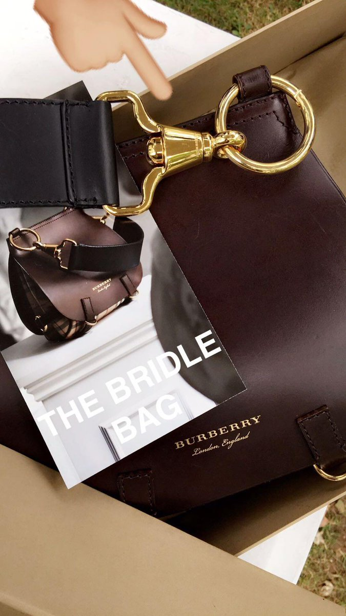 a37d29eee289 follow burberry on the journey to show amp discover the bridle bag now live  on snapchat