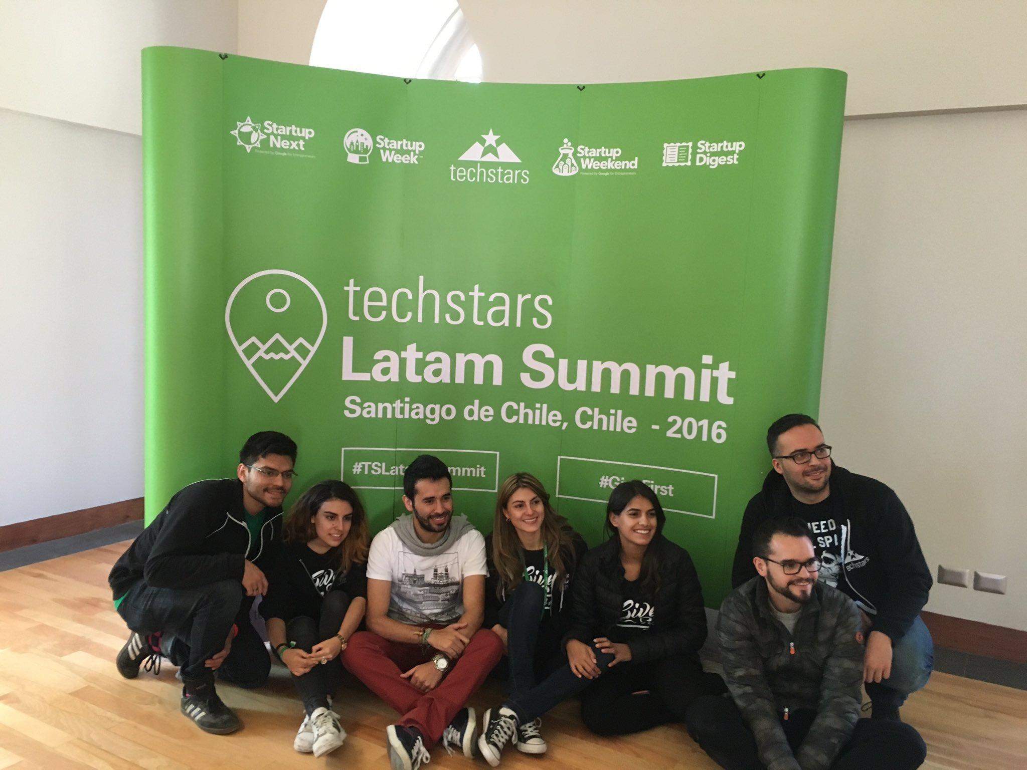 Felicidades al dream team de @techstars Latam que sigan los éxitos #TSLatamSummit https://t.co/Xjvw9Fvnm6