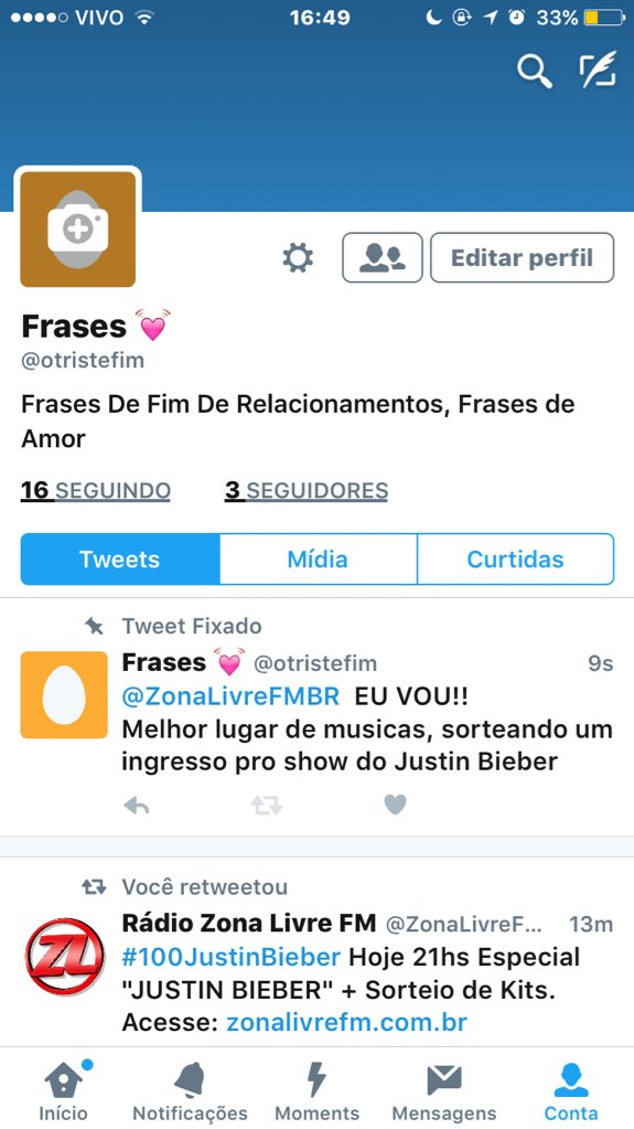Media Tweets By Frases At Otristefim Twitter