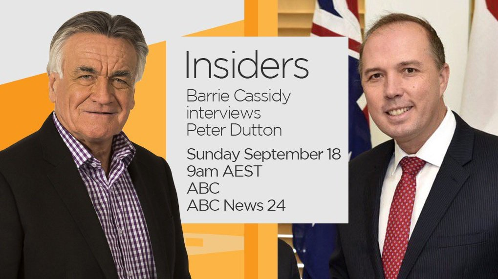 Insiders ABC on Twitter: