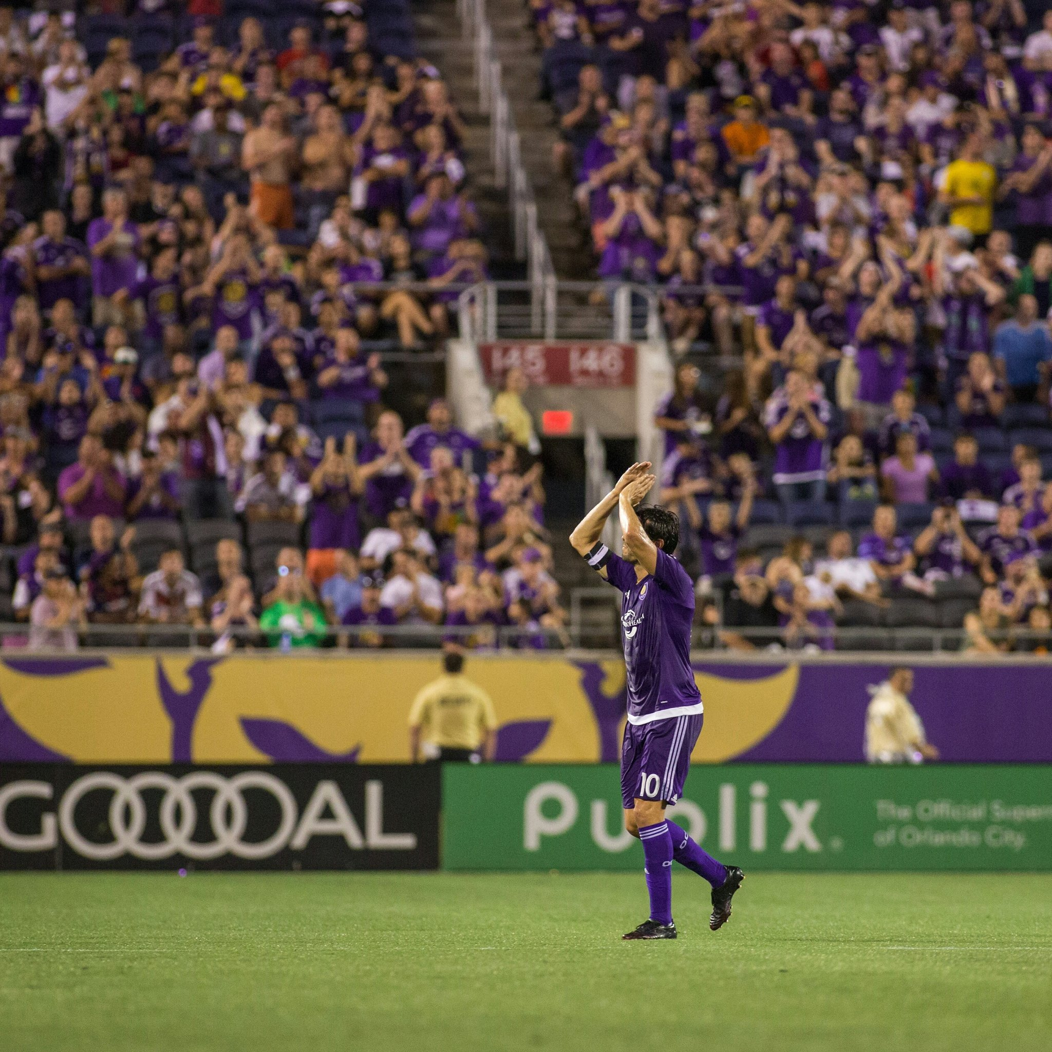The Lion's home �� This game is about #respect #teamwork and #courage #ORLvVLB #MLSworks #kickchildhoodcancer https://t.co/iAjGGsYRfK