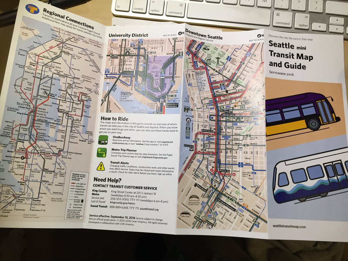Seattle Transit Map SeaTransitMap Twitter