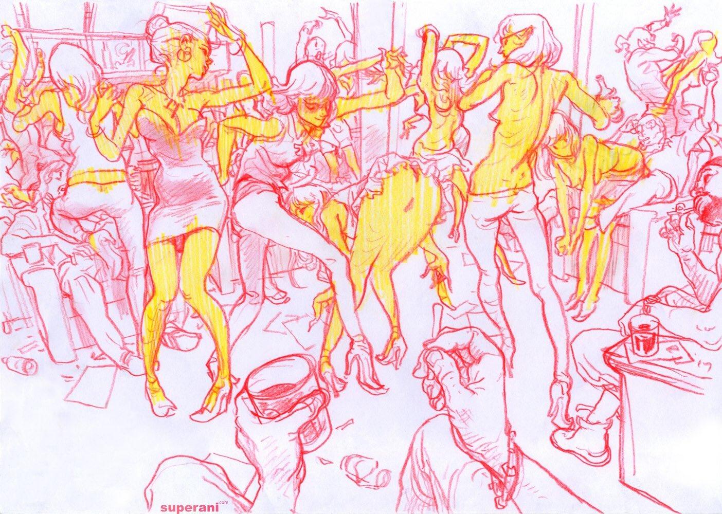 Ilustraciones sueltas chulas encontradas por el internete - Página 4 CsmAk9zW8AA5Cx1