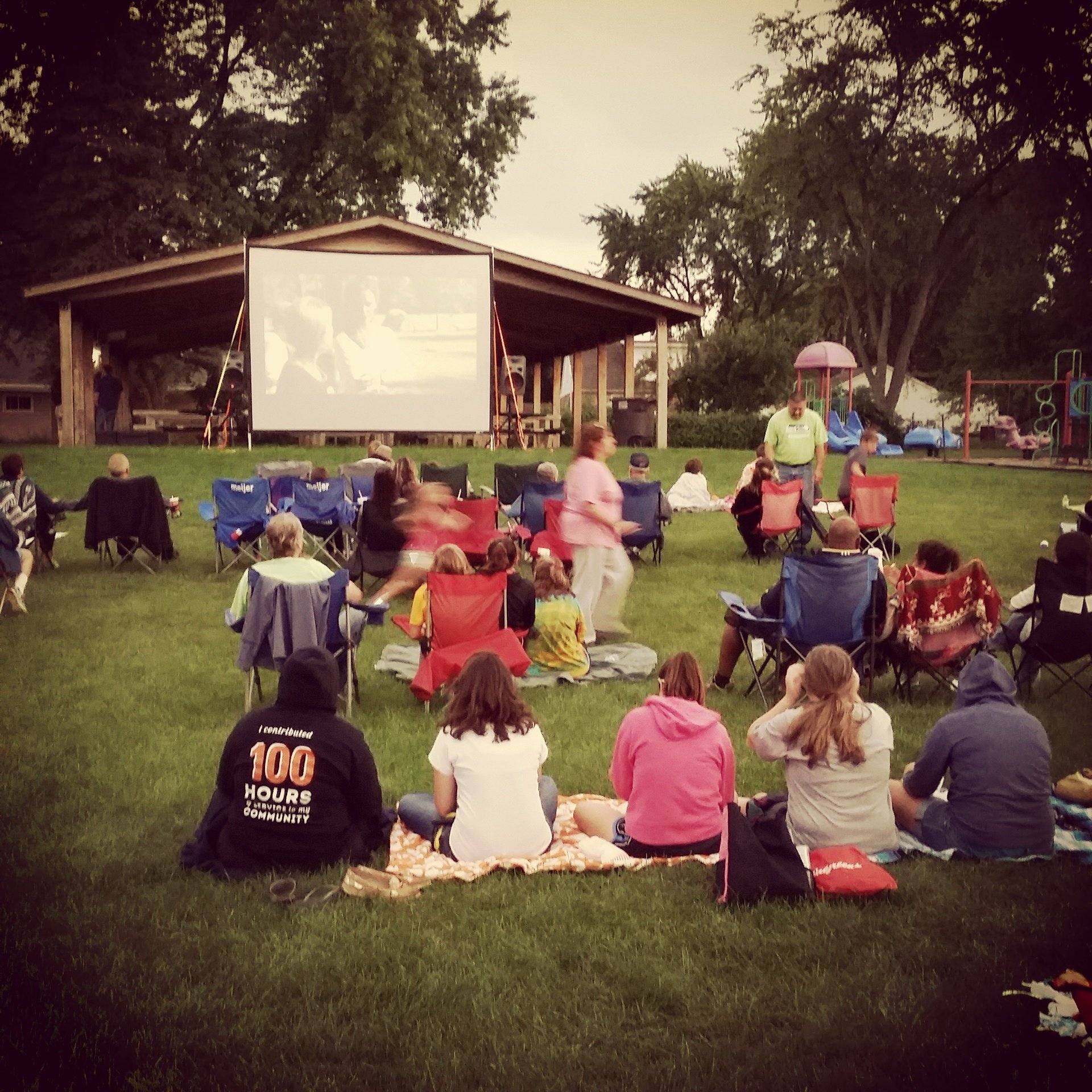Thanks to @TheMichigan for the setup at the Spring Arbor Branch's Movies in the Park! #myjdl #getOTL https://t.co/n7T36WmoiD