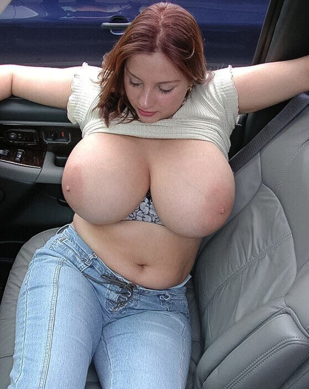Breast woman naked sexy white with big