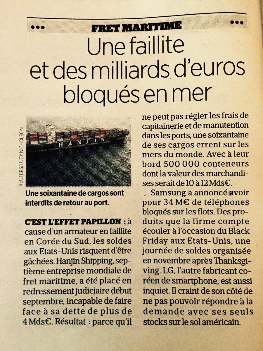 Fascinant d'imaginer ces navires à la dérive. Une allégorie de la modernité ? :) #ludansLeParisien https://t.co/MYWEo7wEYQ