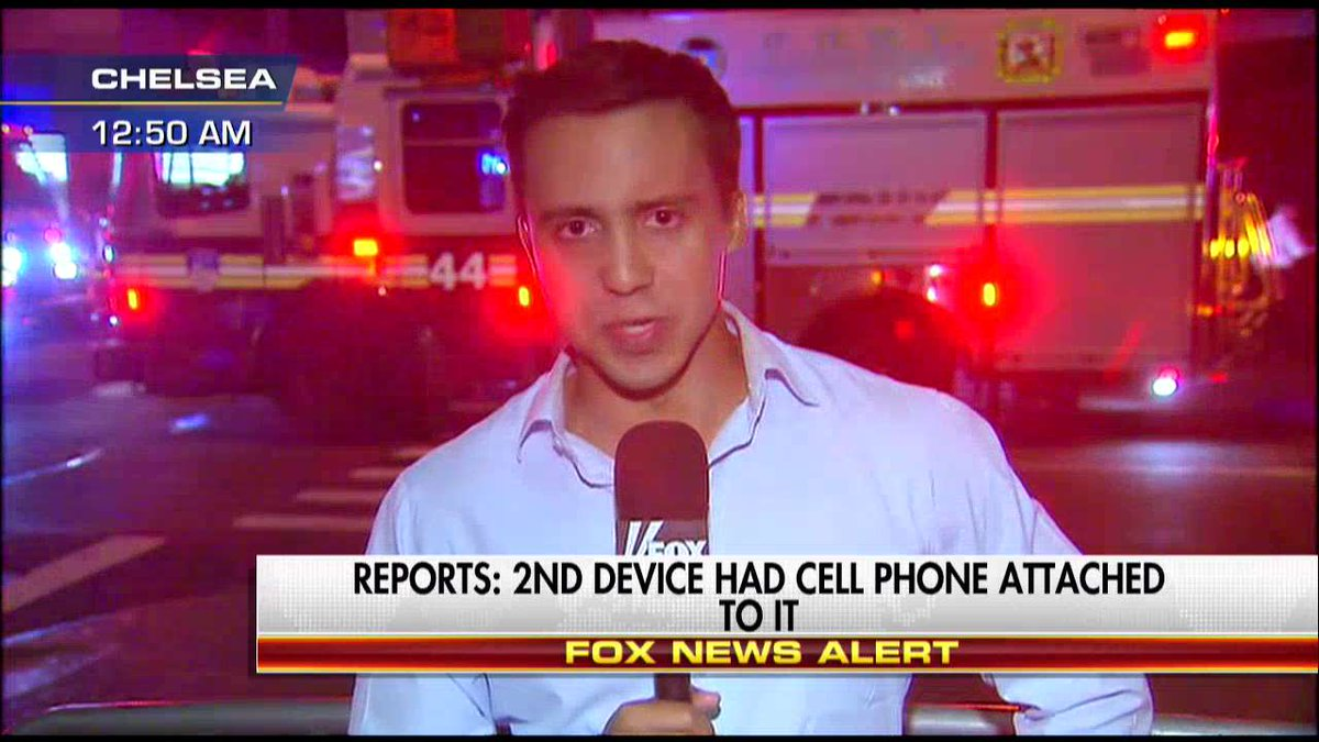 Reports: 2nd device had cell phone attached to it. #Manhattan #Chelsea #ChelseaExplosion