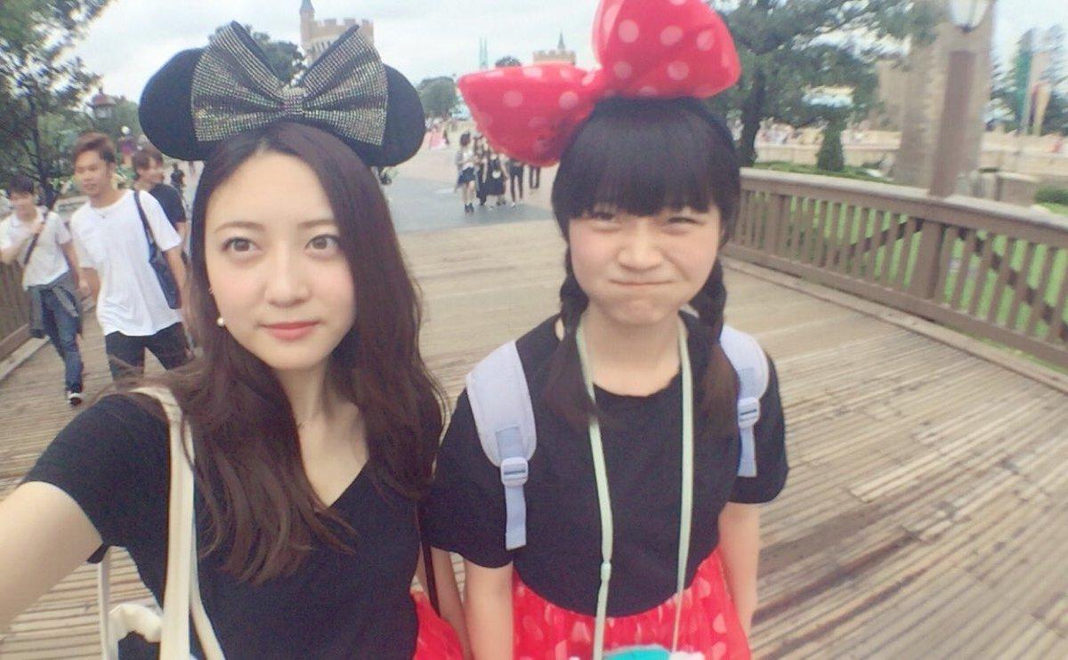 tweet : ディズニーで着たい!可愛いお揃い・双子コーデ♡【ディズニー