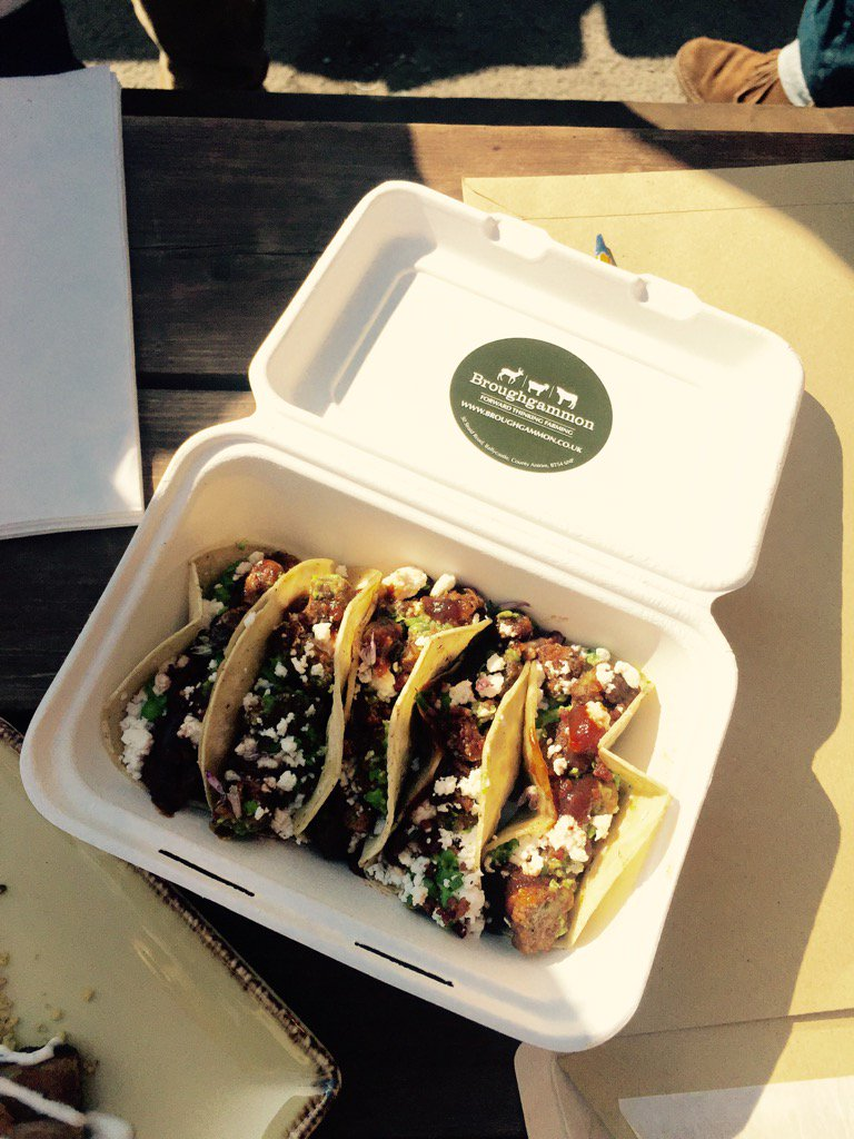 Winner of best snack @BritStreetFood - ace goat offal taco by @BroughgammonFrm - reminded me of ones I ate in Mexico https://t.co/Pz3nlmruzP