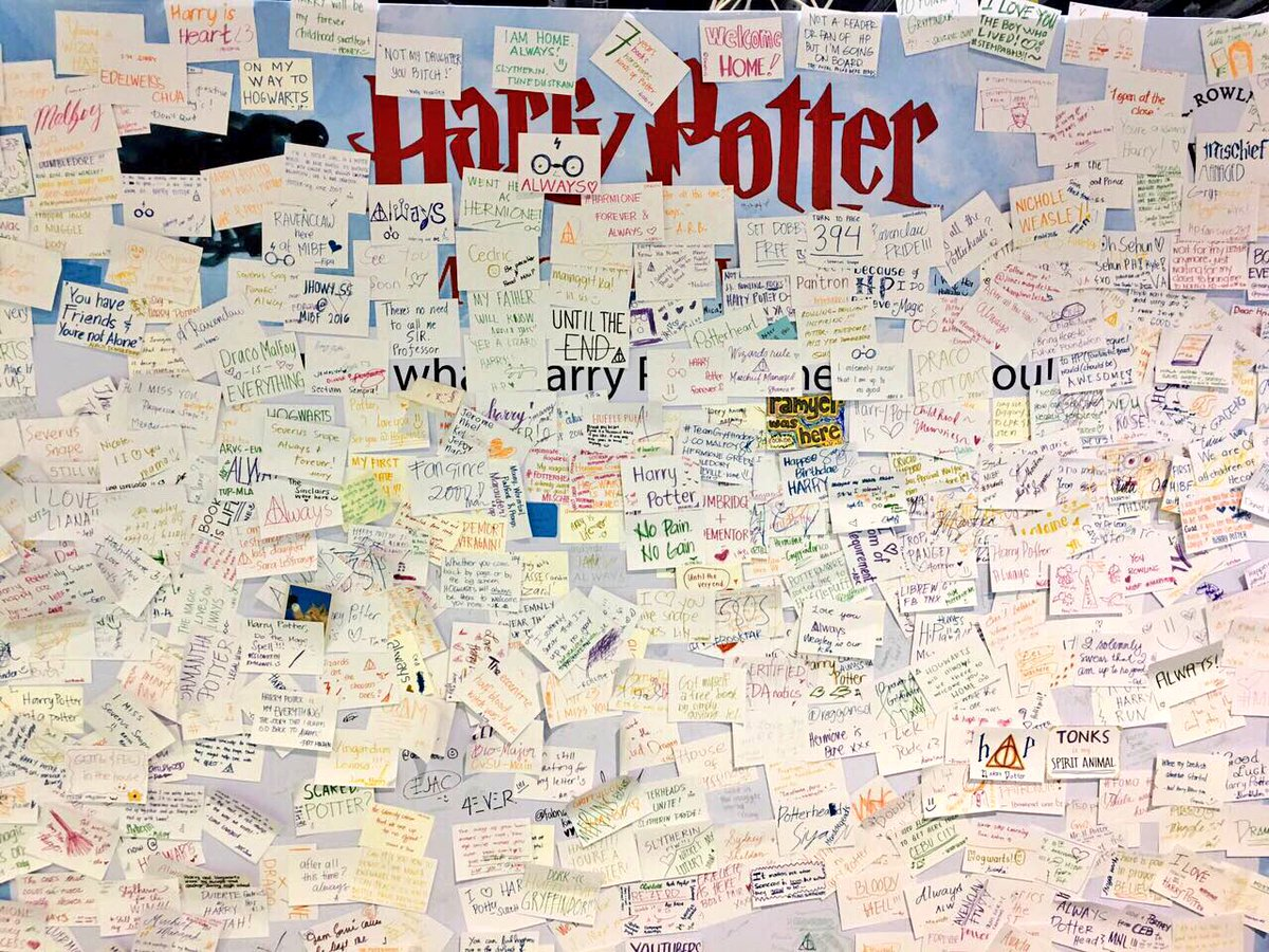 National book store on twitter muggle wall at the manila national book store on twitter muggle wall at the manila international book fair welovetoreadatnbs jkrowling gumiabroncs Images