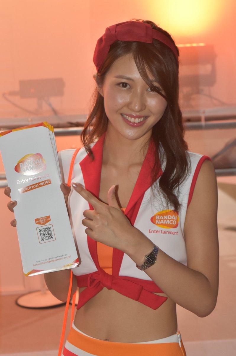 saki_miya222  宮本サキさん ② @saki_miya222 行きと帰り、二回撮影しました(^ ^) #TGS2016 #バンダイナムコpic.twitter.com/QrTgn8v9C3