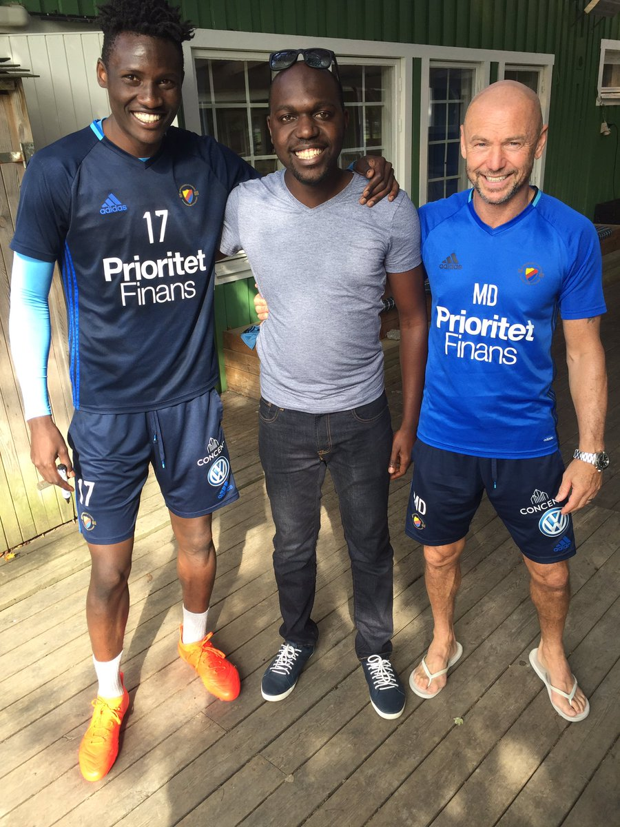 rooting for @ogadaolunga and @dif_fotboll coach mark dempsey in