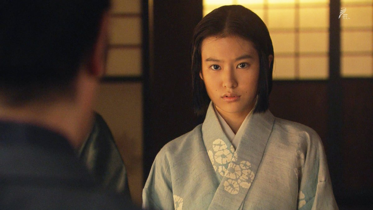 """টুইটারে ひぞっこ: """"#真田丸【恒松祐里さん】成長した信繁の娘・すえを演じるのは恒松祐里さん。朝ドラ「まれ」では、元治さんと文さんの長男・桶作哲也の二人娘のうちの長女・友美を演じていました。東京暮しで ちょっとスレた感じの女の子でしたね。… """""""