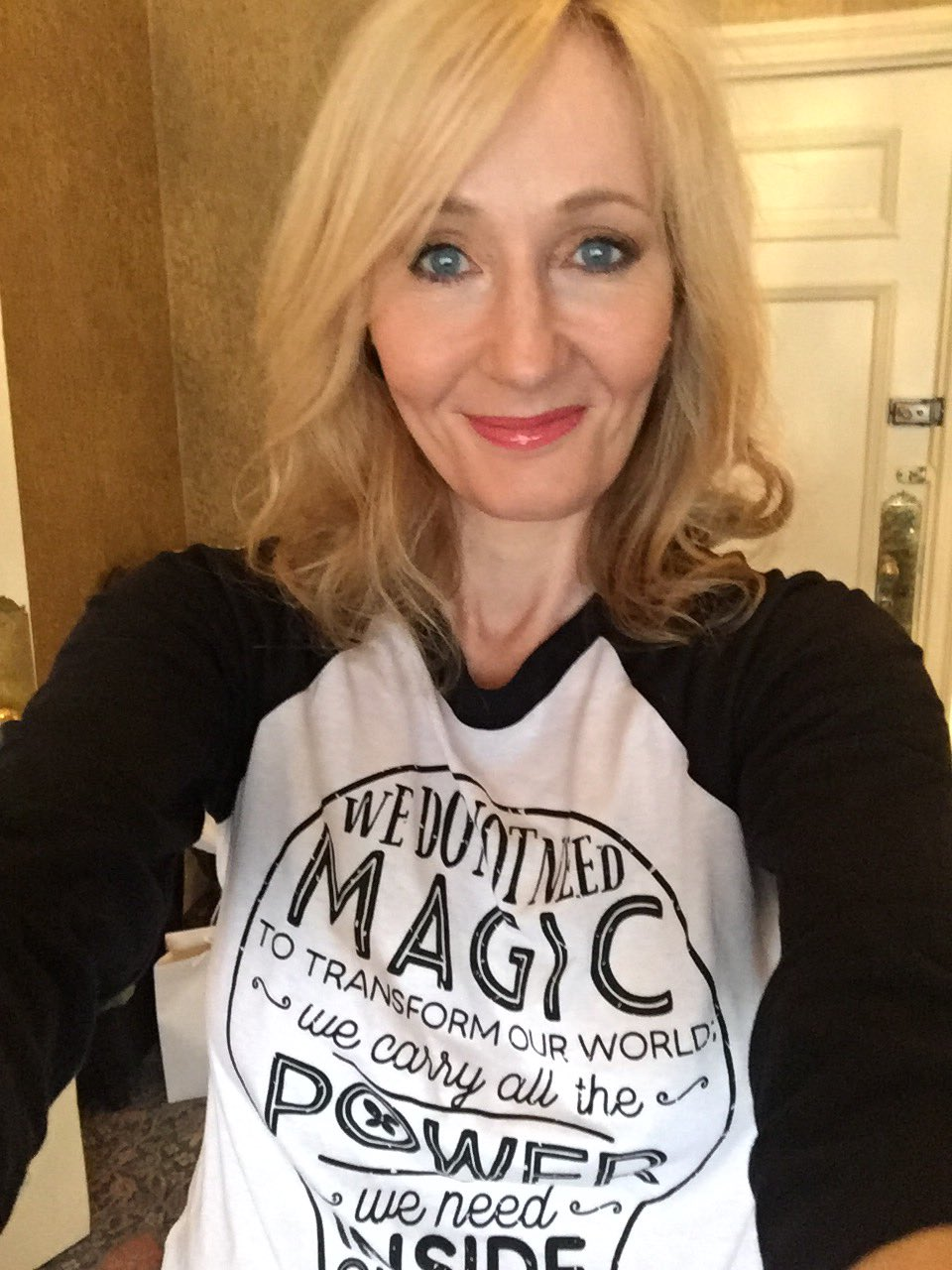 in jk rowlings speech the fringe The surprising announcement of jk rowling's next book  jk rowling has a new  that's because the book will be the speech she gave at harvard university.