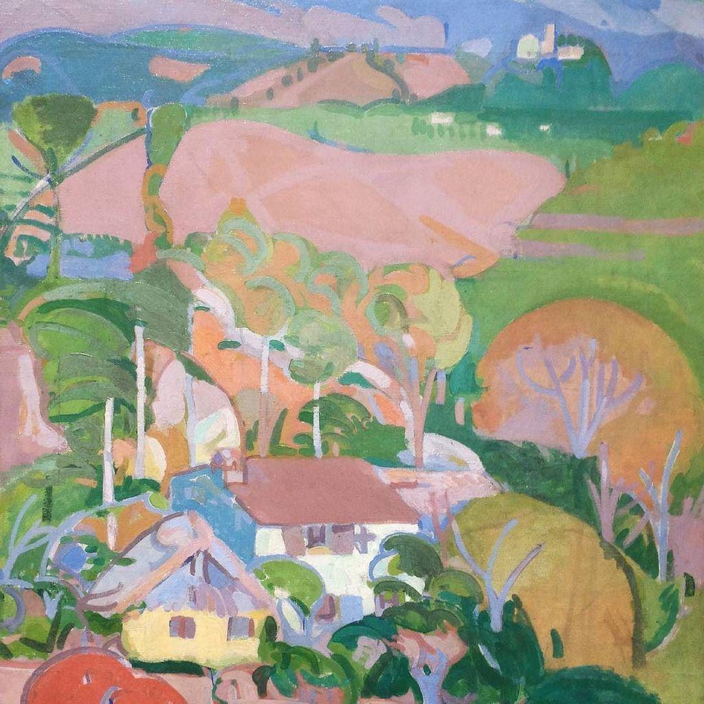 #ginorossi #paesaggioasolano #asololandscape #landscape #painting #museobailo #treviso https://t.co/NLR9KGMmRG