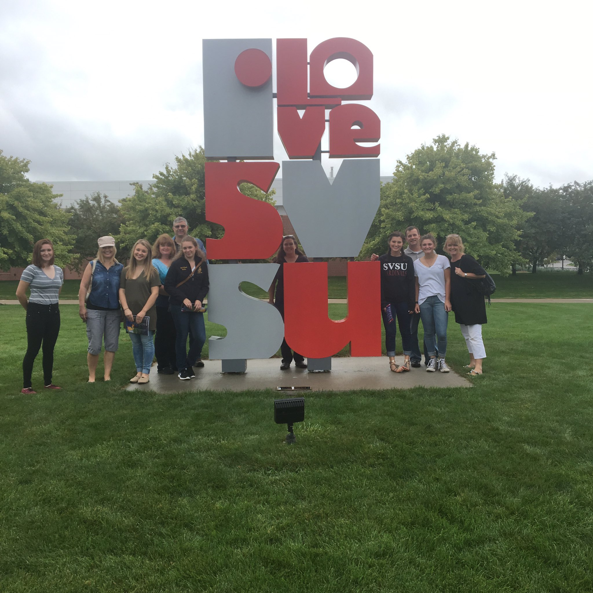Had an AMAZING tour group of education majors for Cardinal College Day! #wecardinal https://t.co/EJ6pehnHiy