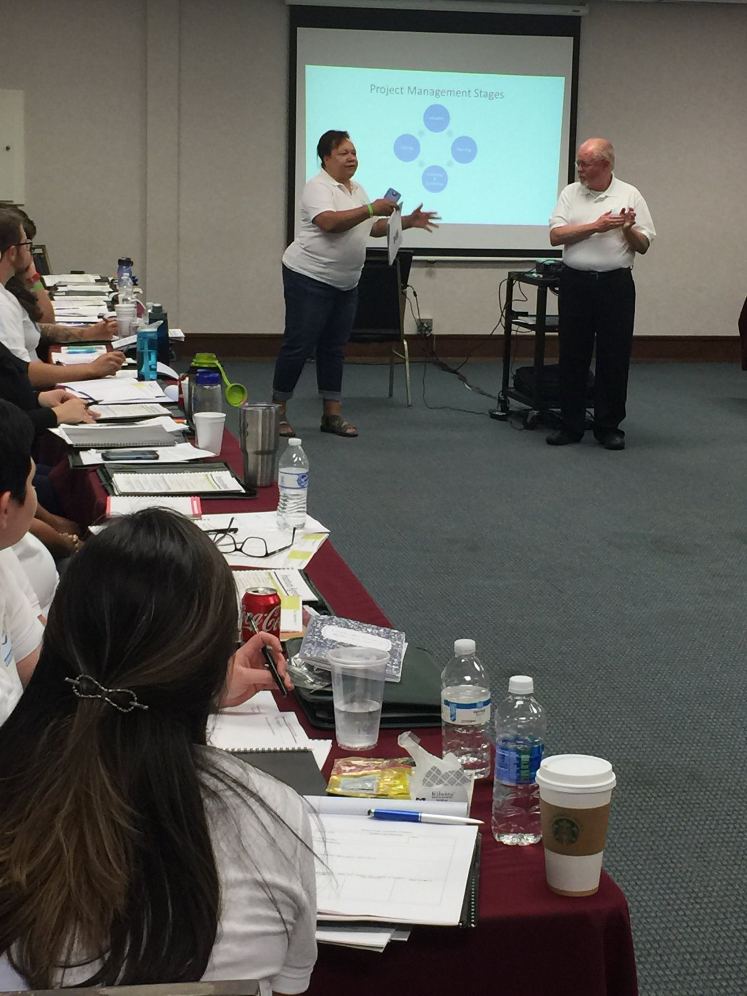 Teaching on Project Management, NCLA LI2016. #leadership #leadershipinstitute #leadershipdevelopment https://t.co/JqOUJp8pKB