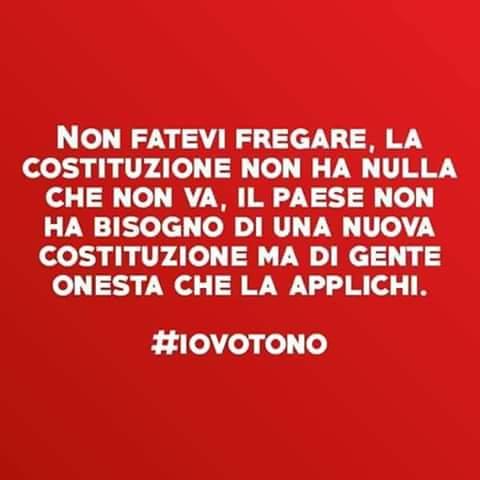 #IoVotoNO https://t.co/BPrXTqmeCD
