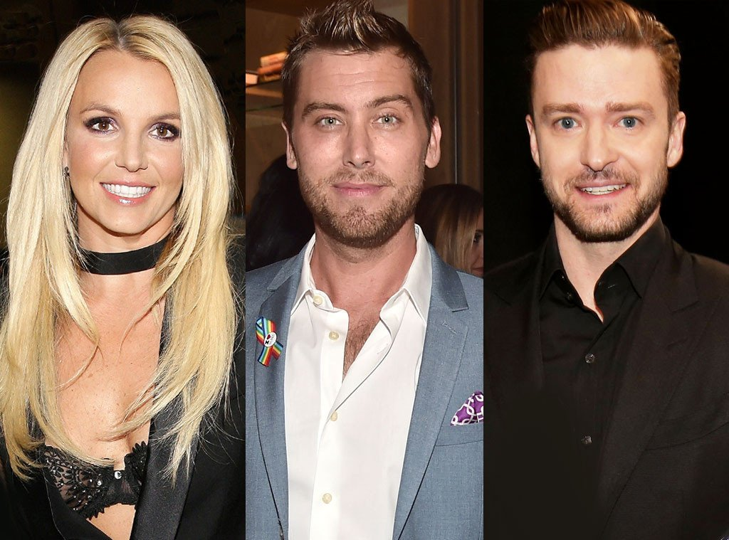Baby one more time? lance bass talks britney spears ...