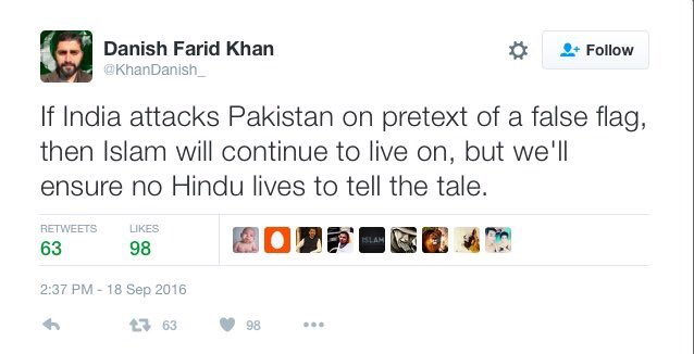 Yes, surely my dear pseudo liberals, religion has nothing to do with the terror. Prove him wrong on the ground. https://t.co/vk94yZgjnD
