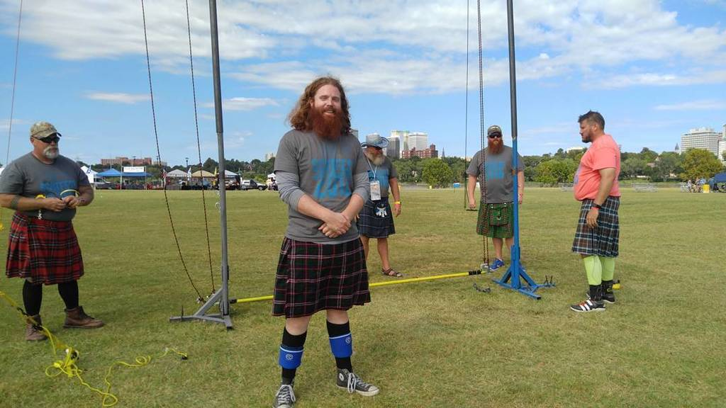 It's a good day to be at #SCOTFEST #Meninkilts #highlandgames 🎪😍💪 https://t.co/i5URfopOW2 https://t.co/S6arhCk5Bh