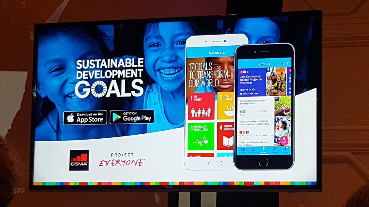 Really cool. A soon-to-be-launched app focused on the 17 #GlobalGoals. We can't wait to download it! #2030NOW https://t.co/p6JZtt6PVe