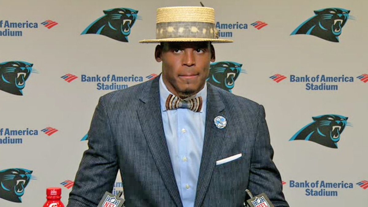 today we rest...tomorrow we find and buy cam newton's post game hat.