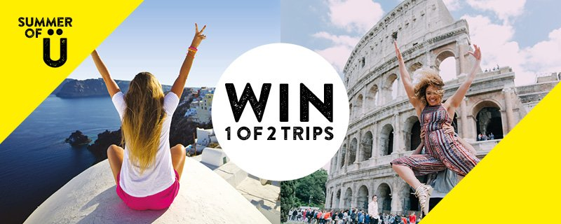It's here, the chance to #WIN 1 of 2 #Europe summer trips for U & your bestie! https://t.co/wpKxqls9jV https://t.co/80b1MSKMXx