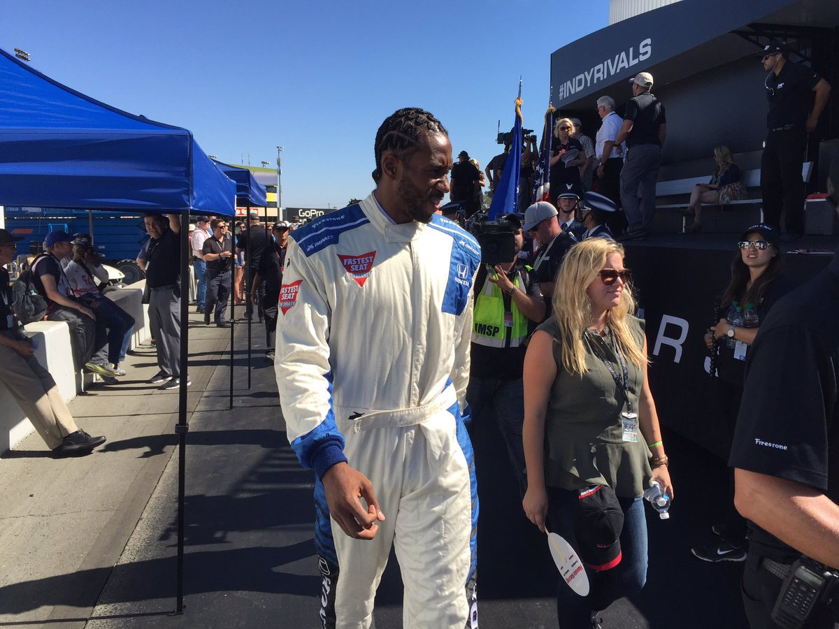 It's going to be a fun ride for @kawhileonard in the @honda Fastest Seat in Sports! #GoProGP https://t.co/YqndwpYzaJ