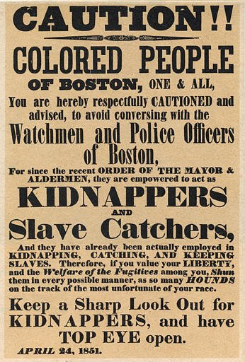 #OnThisDay the Fugitive Slave Act of 1850 passed, requiring all enslaved runaways be returned to masters on capture. https://t.co/OZ8E4z76v9