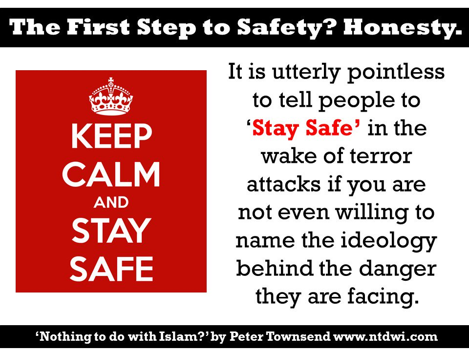 The first step to &#39;Staying Safe&#39;? Honesty #paristattack #paris #london #pjnet  http:// ptbooks.info/225-2  &nbsp;  <br>http://pic.twitter.com/jcO1xHBv6A