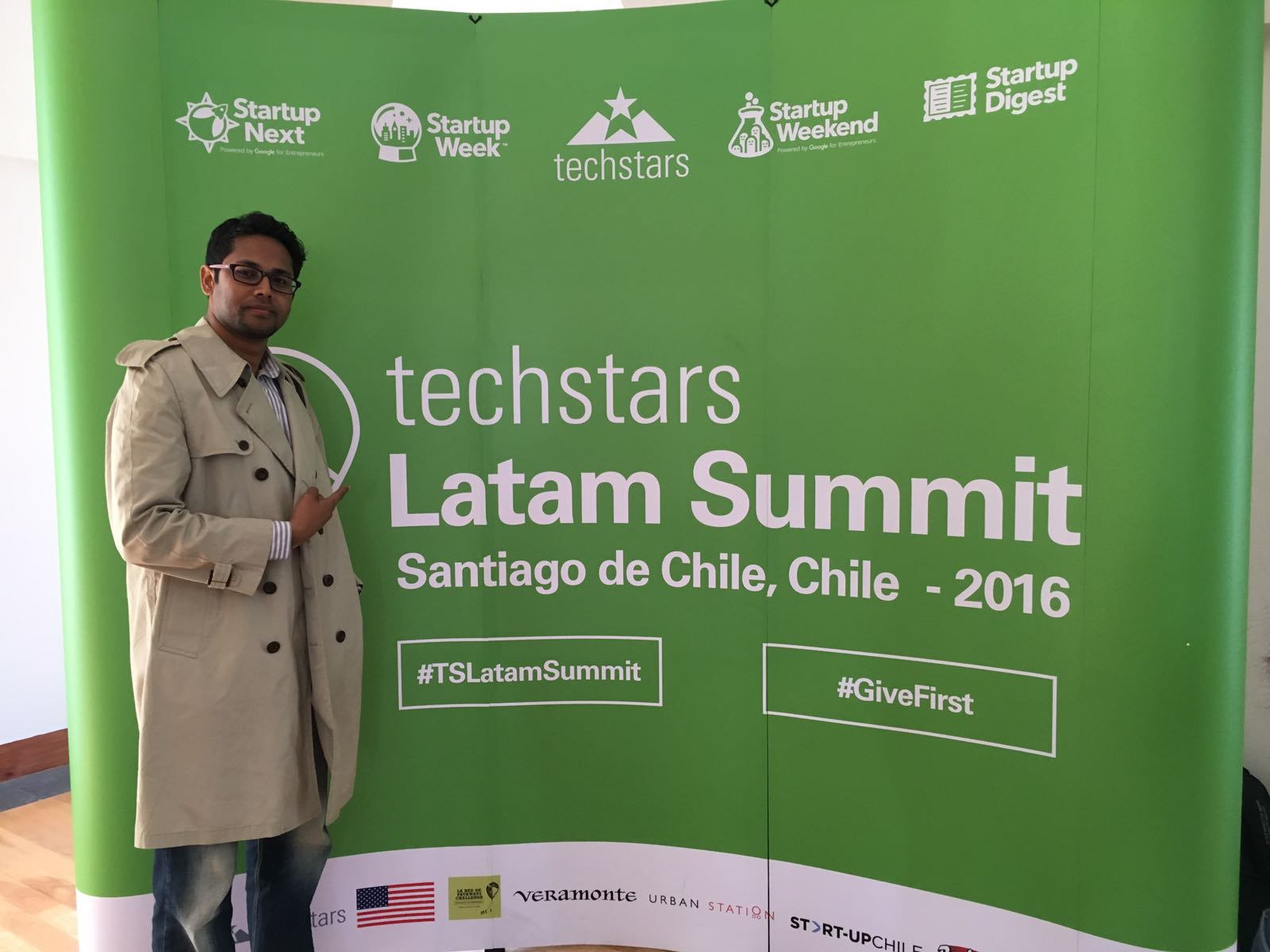What a day to end @LatamSW !! Muy divertido! Learning to #GiveFirst ! #TSLatamSummit #startup https://t.co/xMfuns9aPT
