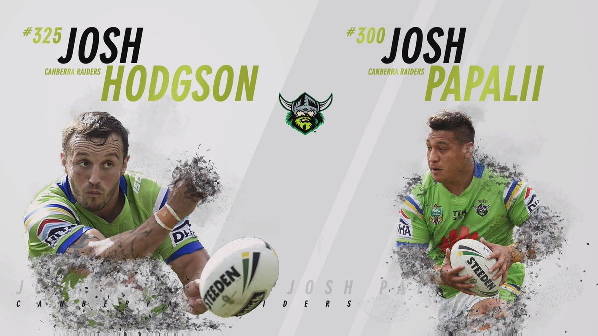 Your 2016 #MeningaMedal winners are Josh Hodgson and Josh Papalii!  RETWEET to congratualte our star duo! https://t.co/1QDlZCXyET