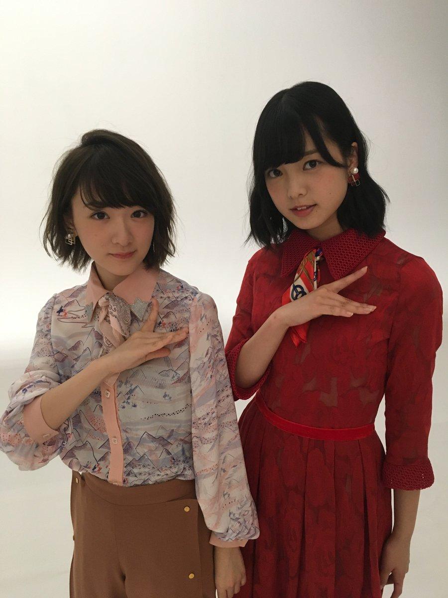 赤の服を着た平手友梨奈