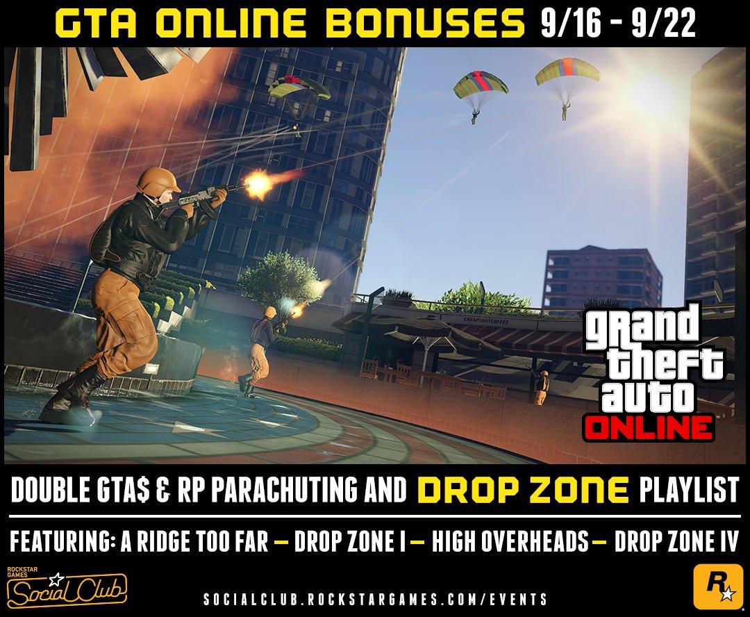 "Uživatel Rockstar Games na Twitteru: ""Custom Double GTA$ & RP"