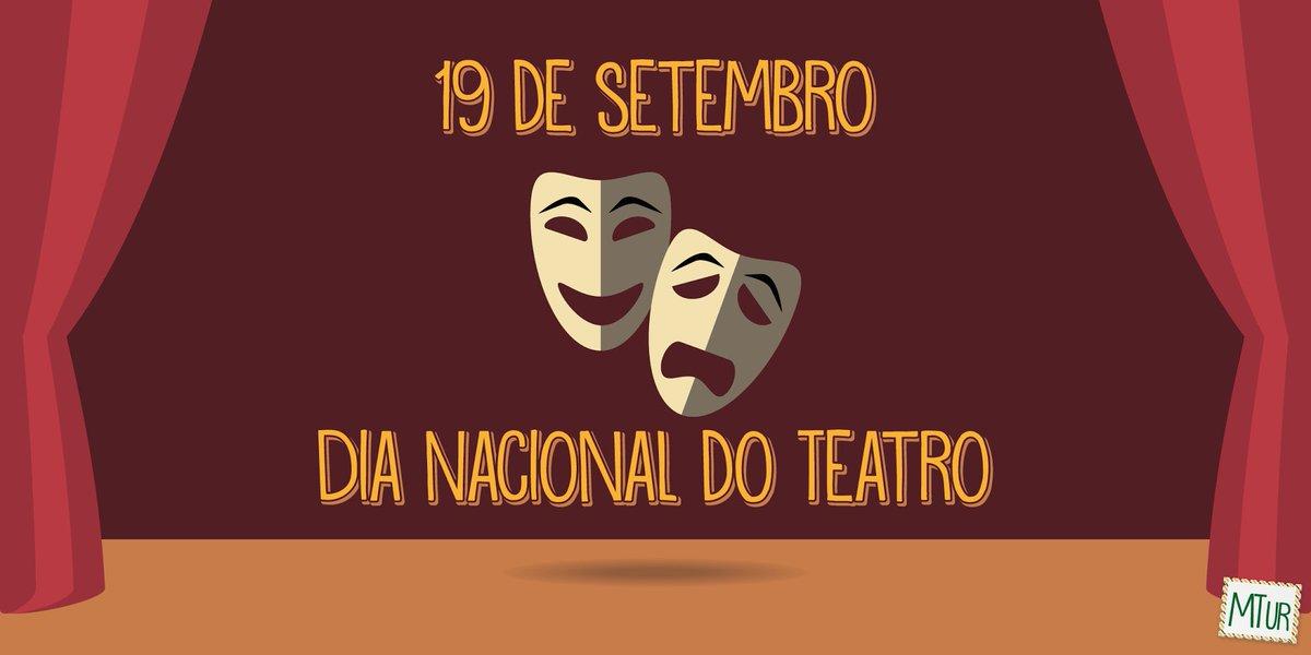 Resultado de imagem para dia nacional do teatro