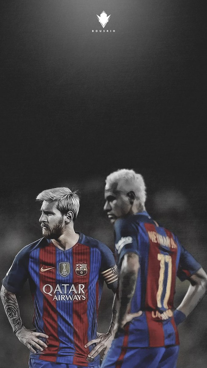 Ahmed Bousrih On Twitter Messi Neymar Lockscreen Wallpaper