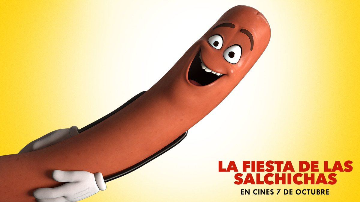 La bestialidad más genial y divertida se llama #LaFiestaDeLasSalchichas. En cines 7 de octubre. https://t.co/tyY7CxzHSZ