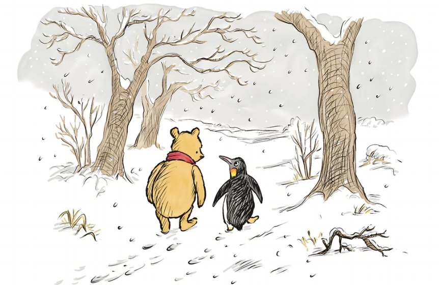 It's Winnie-the-Pooh's 90th birthday, and he's been given a new friend: https://t.co/exnwE8RbDh https://t.co/YZbiR98YiQ